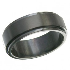 Black Spinner Ring